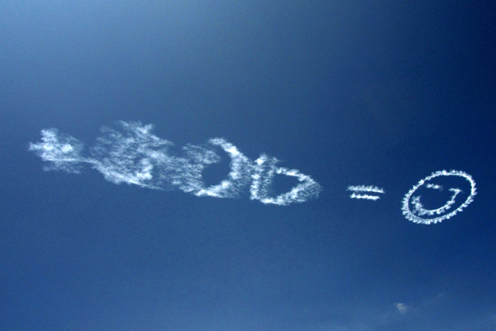 Writings in the sky