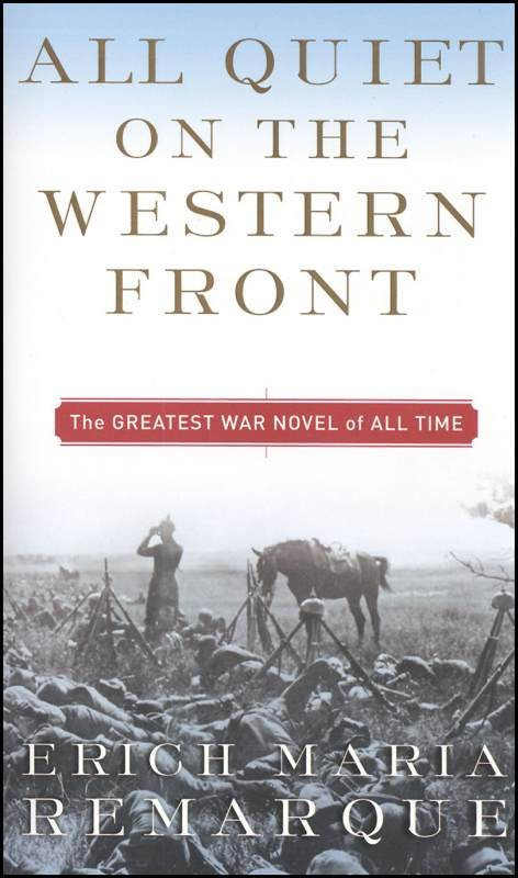 a review of all quiet on the western front by erich remarque Booktopia has all quiet on the western front by erich maria remarque buy a discounted paperback of all quiet on the western front online from australia's.