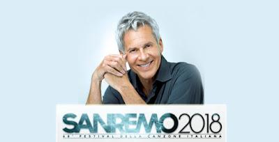 Claudio Baglioni Sanremo Festival 2018