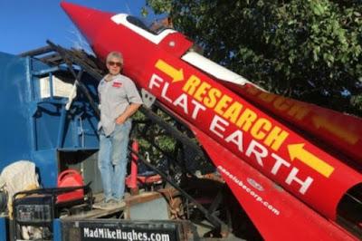 Apa yang di Dapat Saat Peluncuran Roket Pendukung Teori Bumi Datar