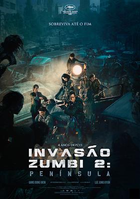Invasão Zumbi 2 Península  Filme ganha novos cartazes