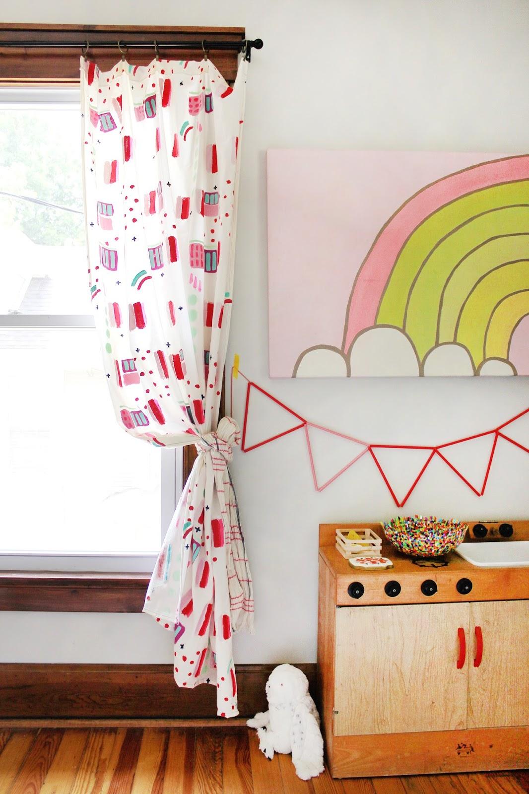 diy cortinas para una habitacin infantil