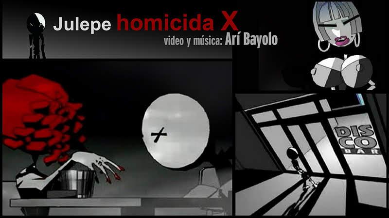 Arí Bayolo - ¨Julepe homicida X¨ - Dibujo Animado - Videoclip - Dirección: Arí Bayolo. Portal Del Vídeo Clip Cubano