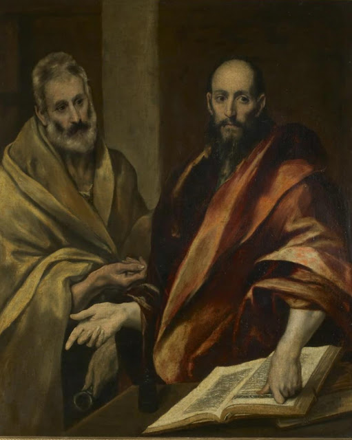 Apostles Peter and Paul by El Greco
