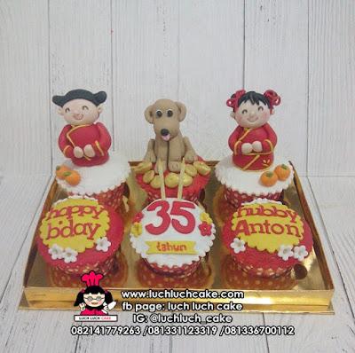 Cupcake Shio Anjing