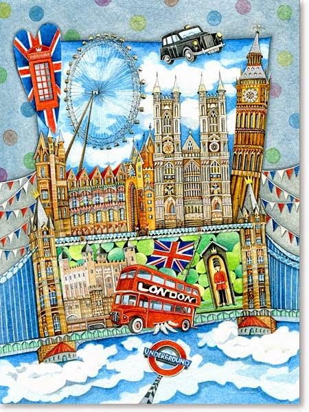 Europa für Kinder - LONDON - als Schreibanlass