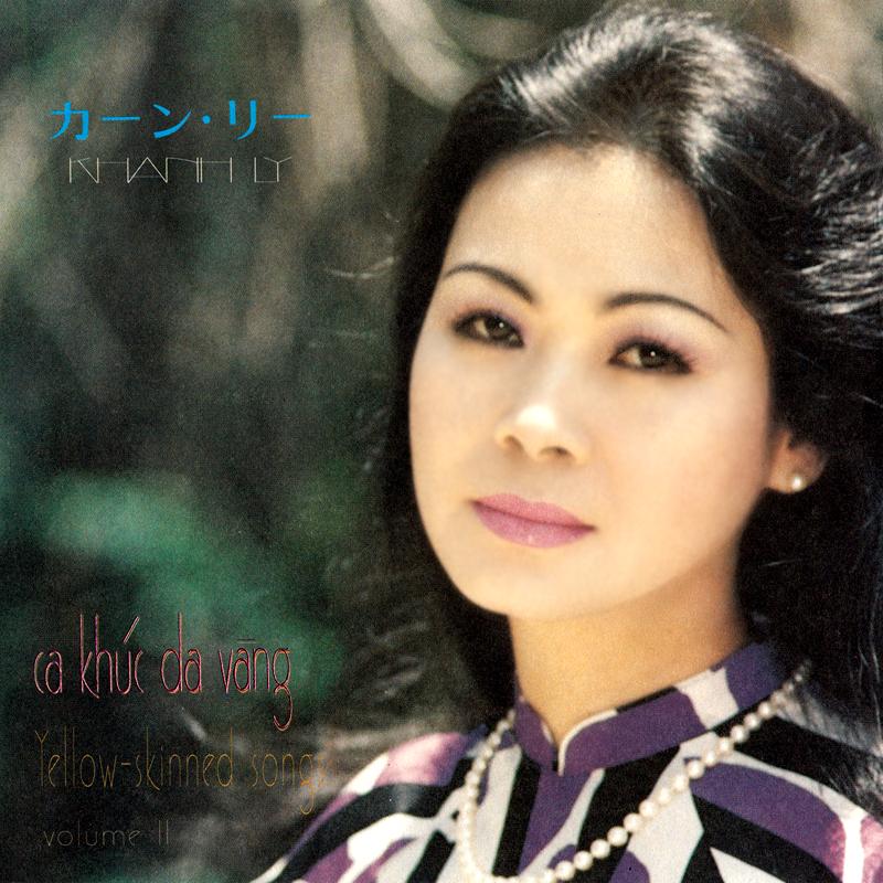 Khánh Ly CD - Ca Khúc Da Vàng 2 (NRG) + bìa scan mới