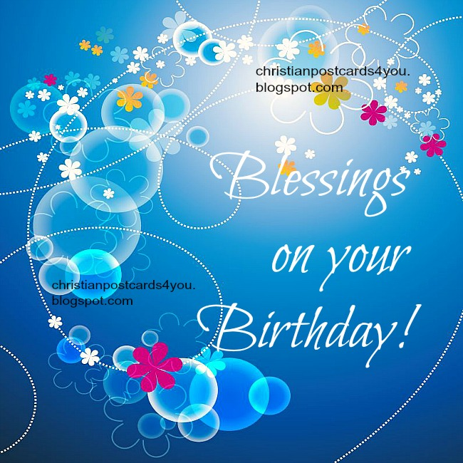 Happy Birthday Blessing Quotes Images: Blessings On Your Birthday