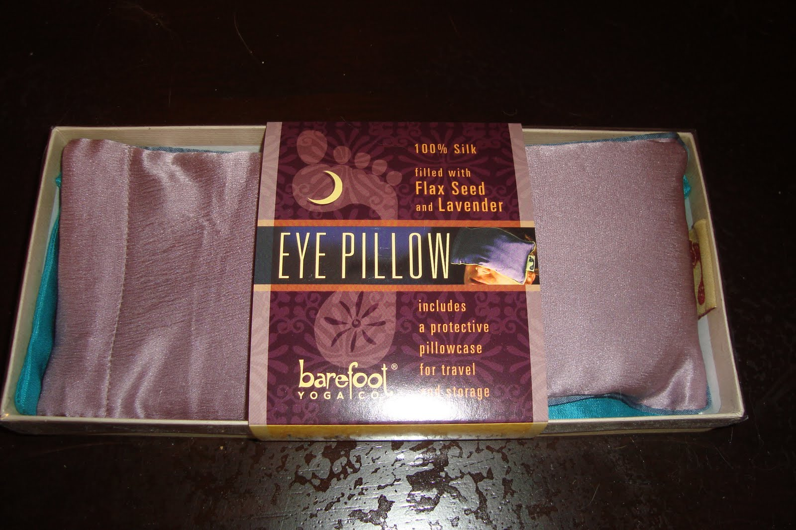 Trying To Go Green Barefoot Yoga Eye Pillow Review