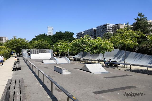 Skatepark Batignolles 2018