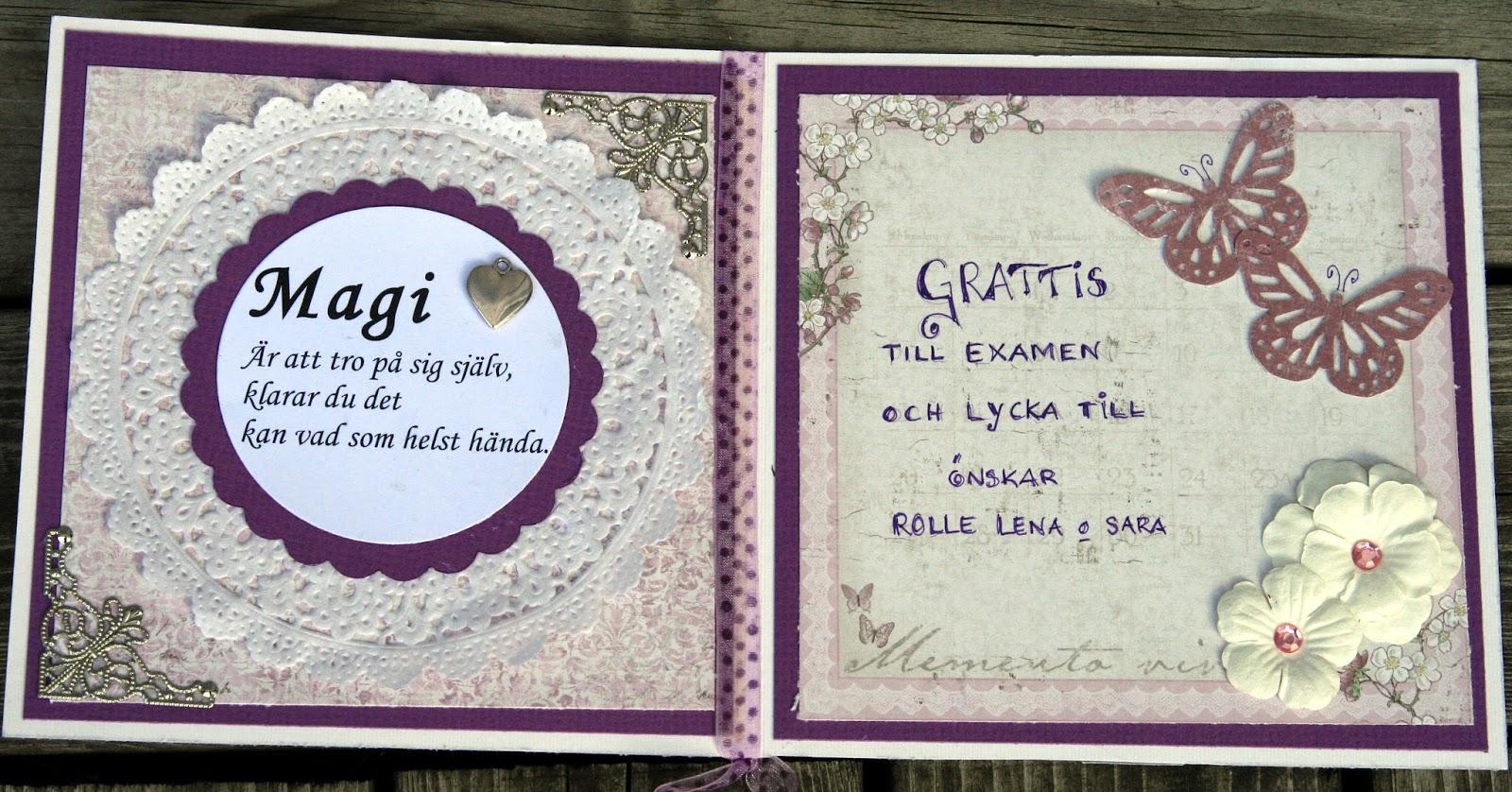 grattis till examen kort Lenas pysselhörna: Grattis till examen grattis till examen kort