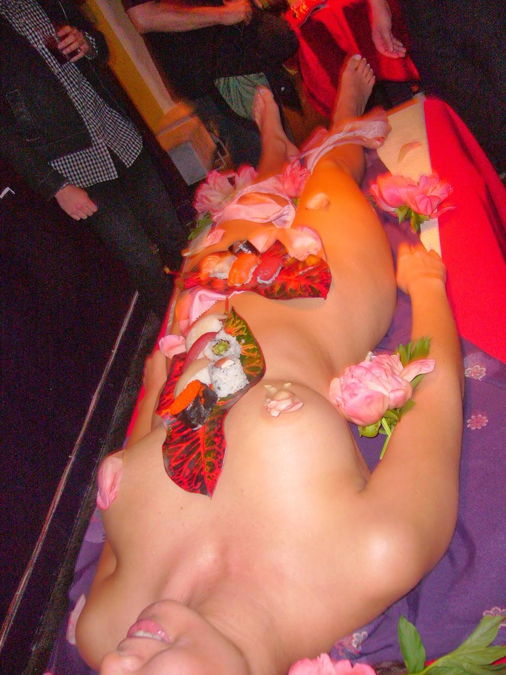 Desi Sexy Golpo  Beer Girl Sushi Food Nudity-1078
