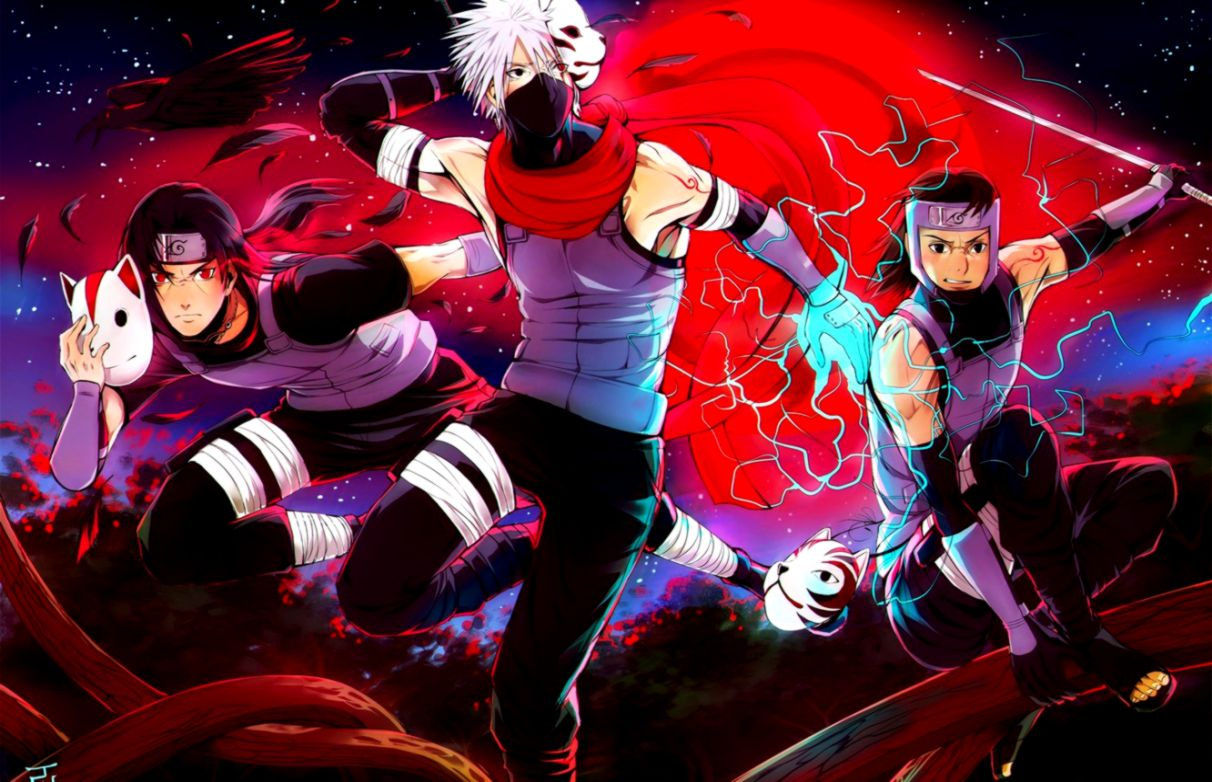 Kakashi Hatake Anbu Wallpaper Hd Wallpapers Gallery