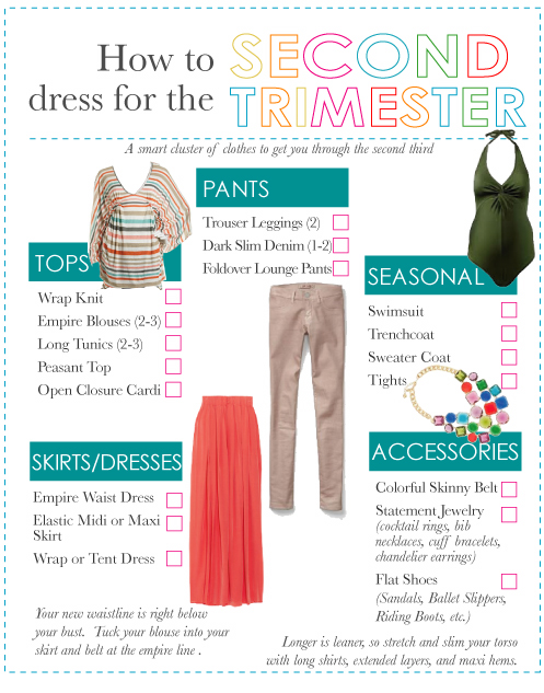 5859bd1bef7af How to Wear Regular Clothes During Pregnancy: The Second Trimester