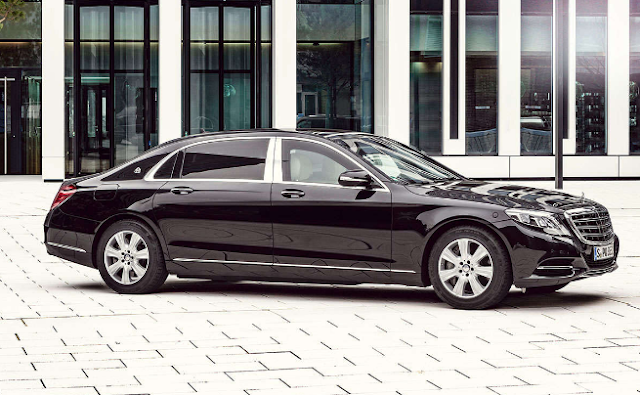 Bulletproof Benz: The Mercedes-Maybach S600 Guard