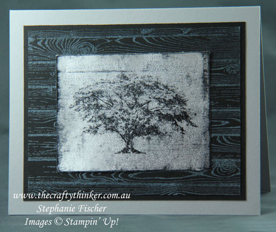 #thecraftythinker  #cardmaking #stampinup #rubberstamping #blackice #stampinup #sneakpeek , Black Ice Technique, Sneak Peek, Rooted In Nature, Stampin' Up! Australia Demonstrator, Stephanie Fischer, Sydney NSW