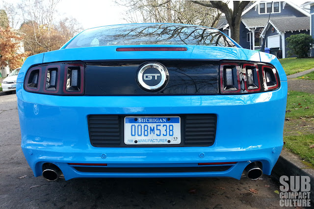 2013 Ford Mustang GT rear