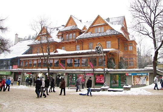Staszeczkówka (obecnie hotel Sabała)