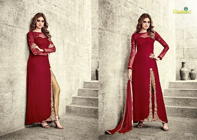 Buy Online Wedding Special Pant Style Anarkali Suit at Wholesale Price