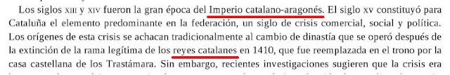 Este catedrático inglés creo que obtuvo el título de historiador en un cromo del Bollycao. Si no explíquenme cómo es posible soltar tales disparates y quedarse tan ancho.  * John H. Elliott: La rebelión de los catalanes, 2013