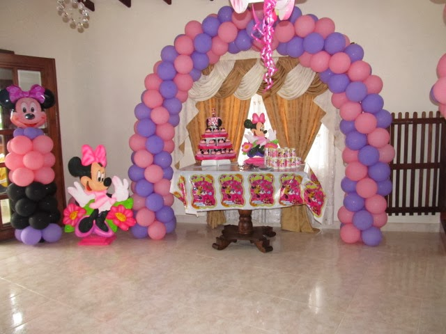 decoracion cumpleaos infantil nia