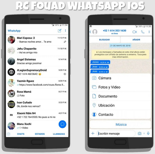 Top Five Download Rc Fouad Whatsapp Mod Ios Apk For Android