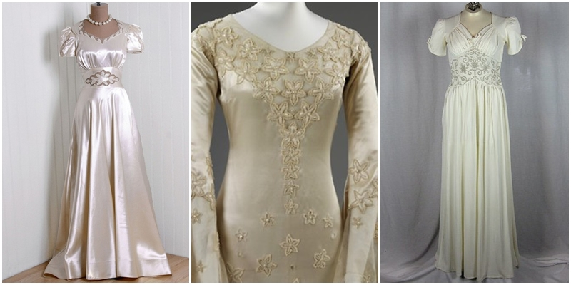 1930s Wedding Gowns: The Local Louisville KY Wedding