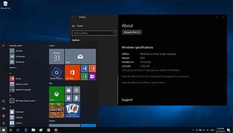 Windows 10 October 2018 Update Dapat Pembaruan Lagi Ke Build 17763.292