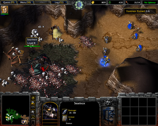 Blackrock and Roll Mission 4 | Searinox Screenshot | Warcraft 3: Reign of Chaos