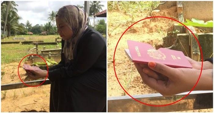 Mau Ziarah Kubur, Tadinya Mengira Yang Dibawanya Buku Yasin, Wanita Malaysia Ini Mengaku Khilaf Yang Dibawanya Ternyata....