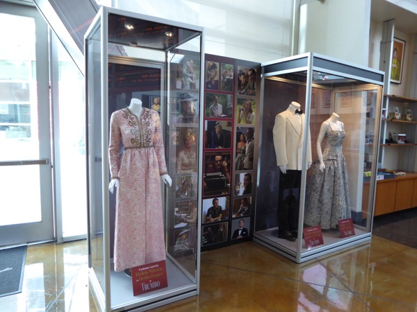 Trumbo movie costume exhibit