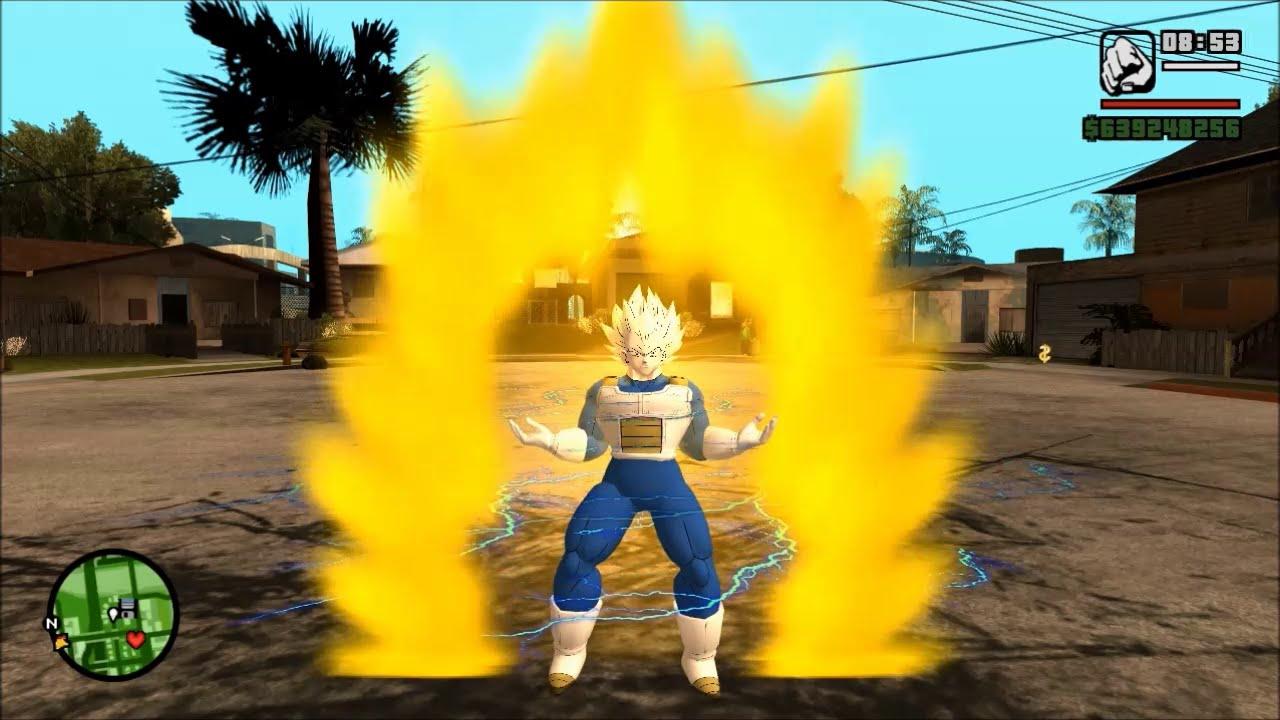 تحميل مود دراغون بول زيد gta sa شرح تثبيت Goku Mod مود غوكو جاتا سان