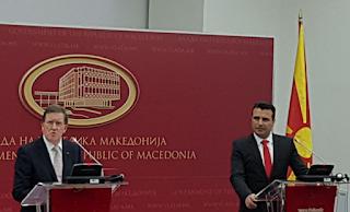 Ομάδα Αχρίδος για την ένταξη της πΓΔΜ σε NATO και ΕΕ φτιάχνει ο Ζάεφ
