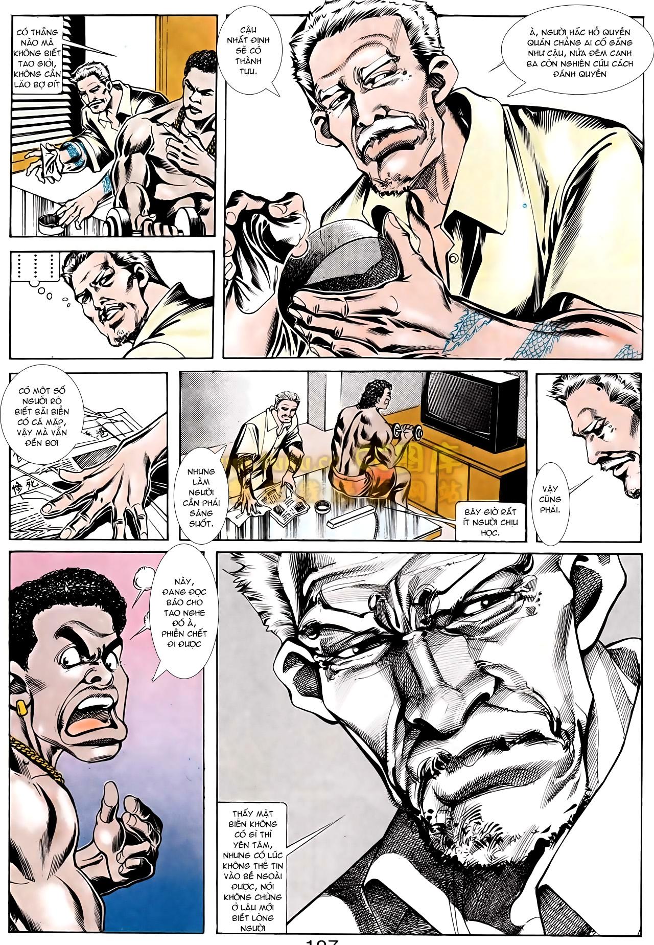 Người Trong Giang Hồ chapter 166: bùng nổ trang 16