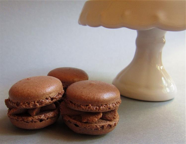 Schokoladenmacarons 2