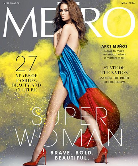 Arci Muñoz Metro Magazine's May 2016 Super Woman