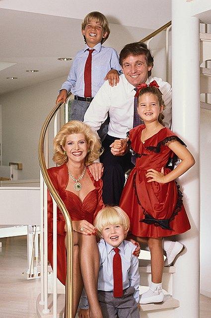 Trump family 1986