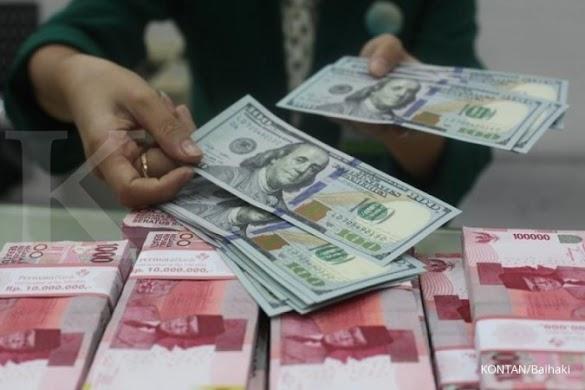 Kurs beli dollar AS di money changer tembus Rp 14.000