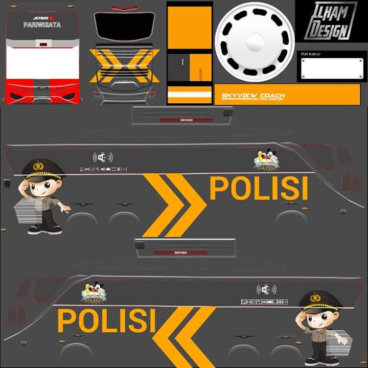 Berbagai Livery Bus Simulator Indonesia Part 4 Semua Aja