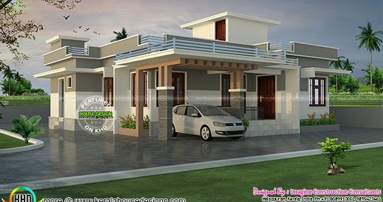 1200 Sq Ft Lakhs Cost Estimated House Plan Kerala Home Design And Floor Plans