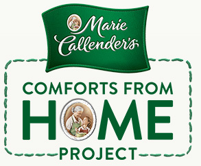 Showing My Support through the Marie Callender's Comforts from Home Project