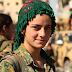 Kalli zaratan matan da suka yaki ISIS a Raqqa (Hotuna)