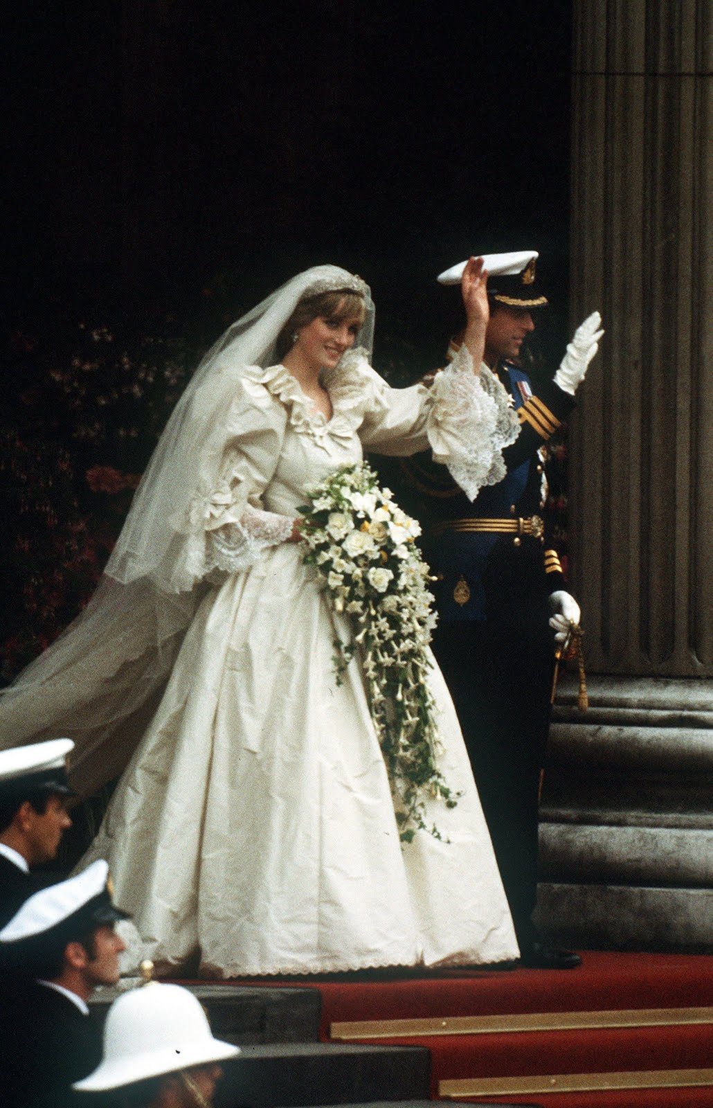 the pink royals: WEDDING of Prince Charles of Wales & Lady ...
