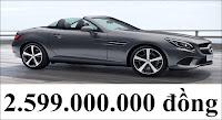 Giá xe Mercedes SLC 200 2018