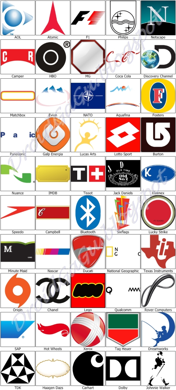 Logo Quiz Answers Images