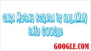 Halaman Satu Google