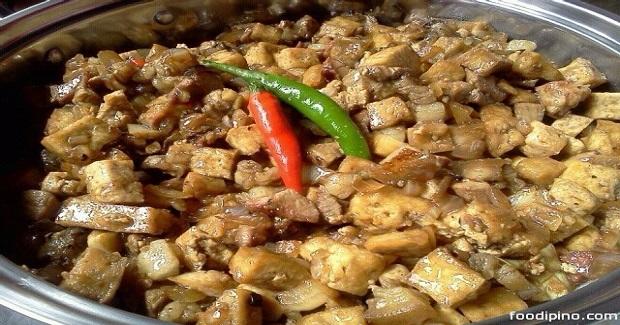 Mama Sita's Pork Tofu el Diablo Recipe