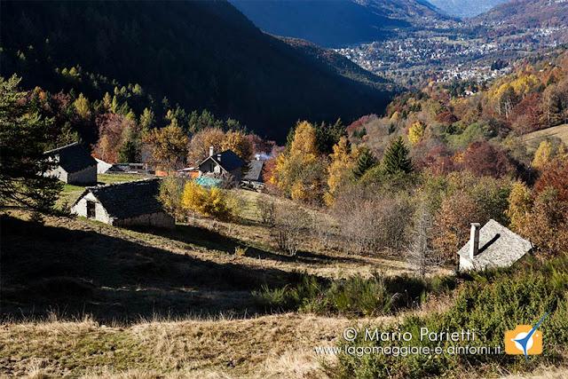 Alpe Blitz e valle Vigezzo