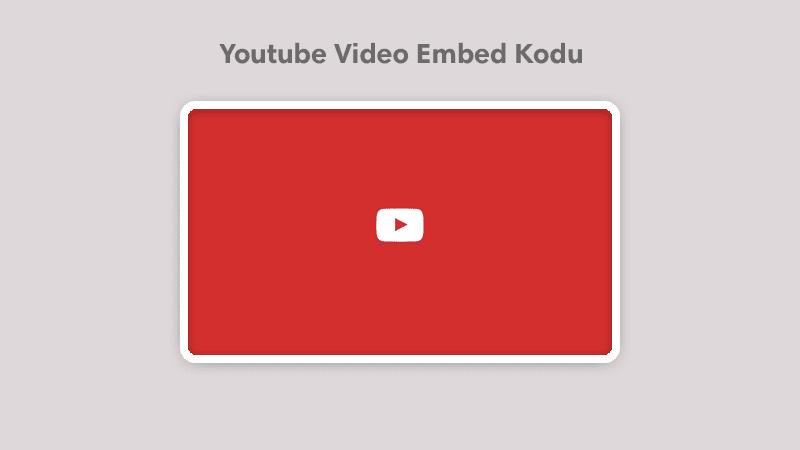 Blogger Youtube Videosu Embed Kod Paylaşımı