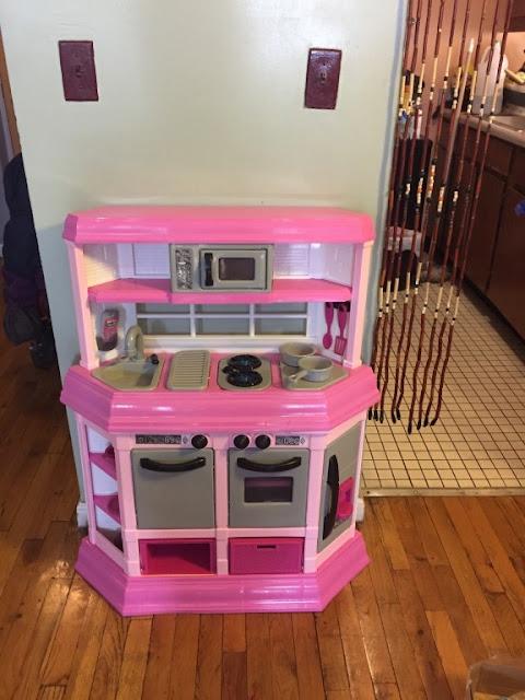 American Plastic Toy Deluxe Custom Kitchen